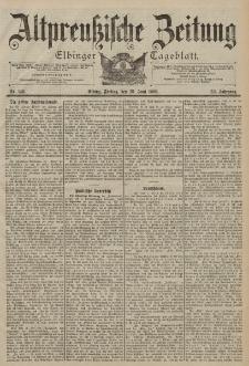 Altpreussische Zeitung, Nr. 149 Freitag 29 Juni 1900, 52. Jahrgang