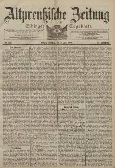 Altpreussische Zeitung, Nr. 152 Dienstag 3 Juli 1900, 52. Jahrgang