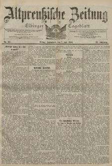 Altpreussische Zeitung, Nr. 156 Sonnabend 7 Juli 1900, 52. Jahrgang