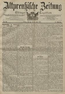 Altpreussische Zeitung, Nr. 161 Freitag 13 Juli 1900, 52. Jahrgang