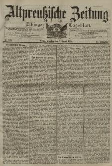 Altpreussische Zeitung, Nr. 182 Dienstag 7 August 1900, 52. Jahrgang