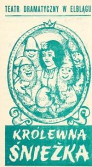 Królewna Śnieżka - program teatralny