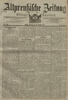 Altpreussische Zeitung, Nr. 185 Freitag 10 August 1900, 52. Jahrgang