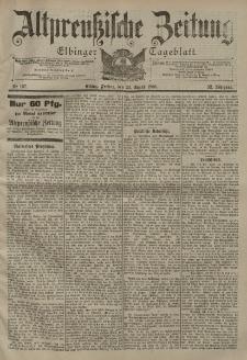 Altpreussische Zeitung, Nr. 197 Freitag 24 August 1900, 52. Jahrgang