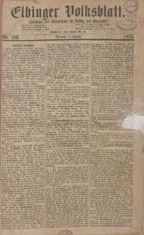 Elbinger Volksblatt (Zeitungs= und Anzeigeblatt für Elbing und Umgegend) 1870