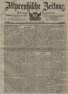 Altpreussische Zeitung, Nr. 203 Freitag 31 August 1900, 52. Jahrgang