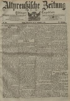 Altpreussische Zeitung, Nr. 210 Sonnabend 8 September 1900, 52. Jahrgang