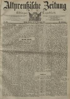 Altpreussische Zeitung, Nr. 215 Freitag 14 September 1900, 52. Jahrgang