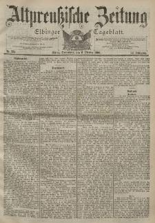 Altpreussische Zeitung, Nr. 234 Sonnabend 6 Oktober 1900, 52. Jahrgang