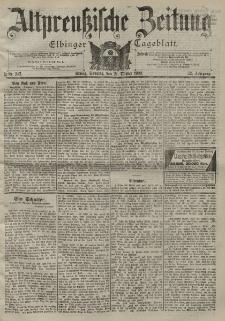 Altpreussische Zeitung, Nr. 247 Sonntag 21 Oktober 1900, 52. Jahrgang