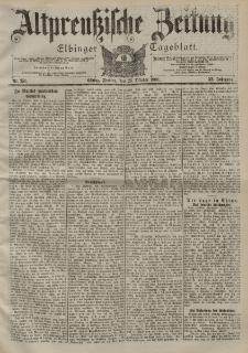 Altpreussische Zeitung, Nr. 251 Freitag 26 Oktober 1900, 52. Jahrgang