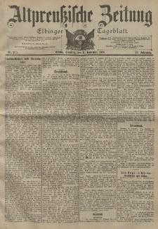Altpreussische Zeitung, Nr. 265 Sonntag 11 November 1900, 52. Jahrgang