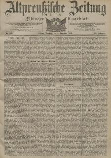 Altpreussische Zeitung, Nr. 283 Dienstag 4 Dezember 1900, 52. Jahrgang