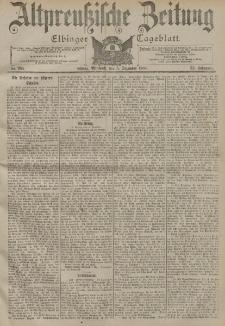 Altpreussische Zeitung, Nr. 284 Mittwoch 5 Dezember 1900, 52. Jahrgang