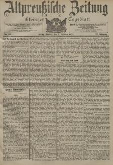 Altpreussische Zeitung, Nr. 288 Sonntag 9 Dezember 1900, 52. Jahrgang