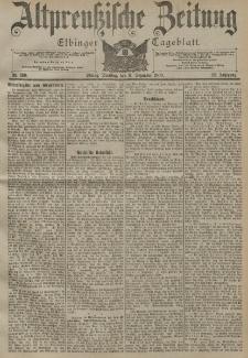 Altpreussische Zeitung, Nr. 289 Dienstag 11 Dezember 1900, 52. Jahrgang