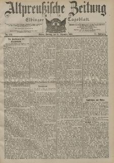 Altpreussische Zeitung, Nr. 292 Freitag 14 Dezember 1900, 52. Jahrgang