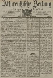 Altpreussische Zeitung, Nr. 293 Sonnabend 15 Dezember 1900, 52. Jahrgang