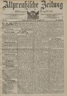 Altpreussische Zeitung, Nr. 299 Sonnabend 22 Dezember 1900, 52. Jahrgang