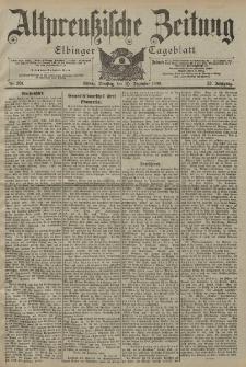 Altpreussische Zeitung, Nr. 301 Dienstag 25 Dezember 1900, 52. Jahrgang