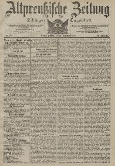 Altpreussische Zeitung, Nr. 302 Freitag 28 Dezember 1900, 52. Jahrgang