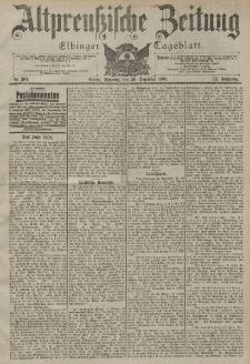 Altpreussische Zeitung, Nr. 304 Sonntag 30 Dezember 1900, 52. Jahrgang