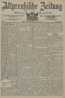 Altpreussische Zeitung, Nr. 2 Donnerstag 3 Januar 1901, 53. Jahrgang