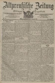 Altpreussische Zeitung, Nr. 9 Freitag 11 Januar 1901, 53. Jahrgang