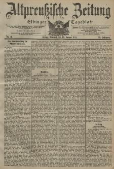 Altpreussische Zeitung, Nr. 13 Mittwoch 16 Januar 1901, 53. Jahrgang