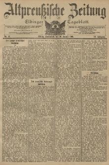 Altpreussische Zeitung, Nr. 16 Sonnabend 19 Januar 1901, 53. Jahrgang