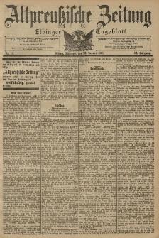 Altpreussische Zeitung, Nr. 19 Mittwoch 23 Januar 1901, 53. Jahrgang