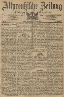 Altpreussische Zeitung, Nr. 27 Freitag 1 Februar 1901, 53. Jahrgang