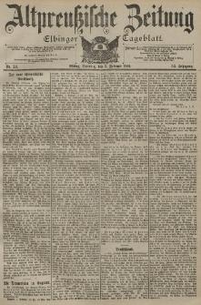 Altpreussische Zeitung, Nr. 29 Sonntag 3 Februar 1901, 53. Jahrgang
