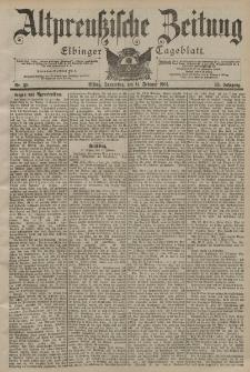 Altpreussische Zeitung, Nr. 38 Donnerstag 14 Februar 1901, 53. Jahrgang