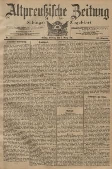 Altpreussische Zeitung, Nr. 53 Sonntag 3 März 1901, 53. Jahrgang