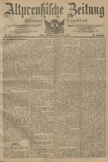 Altpreussische Zeitung, Nr. 55 Mittwoch 6 März 1901, 53. Jahrgang