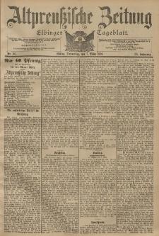 Altpreussische Zeitung, Nr. 56 Donnerstag 7 März 1901, 53. Jahrgang