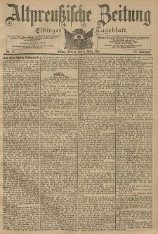 Altpreussische Zeitung, Nr. 57 Freitag 8 März 1901, 53. Jahrgang