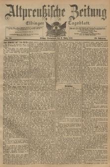 Altpreussische Zeitung, Nr. 58 Sonnabend 9 März 1901, 53. Jahrgang