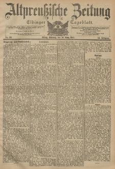 Altpreussische Zeitung, Nr. 59 Sonntag 10 März 1901, 53. Jahrgang
