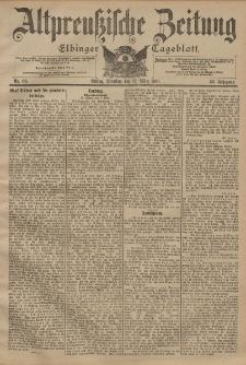 Altpreussische Zeitung, Nr. 60 Dienstag 12 März 1901, 53. Jahrgang