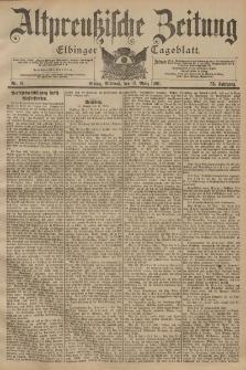Altpreussische Zeitung, Nr. 61 Mittwoch 13 März 1901, 53. Jahrgang