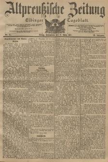 Altpreussische Zeitung, Nr. 64 Sonnabend 16 März 1901, 53. Jahrgang