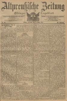 Altpreussische Zeitung, Nr. 65 Sonntag 17 März 1901, 53. Jahrgang