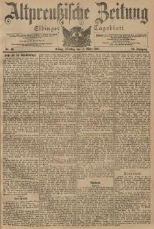 Altpreussische Zeitung, Nr. 66 Dienstag 19 März 1901, 53. Jahrgang