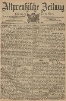 Altpreussische Zeitung, Nr. 67 Mittwoch 20 März 1901, 53. Jahrgang