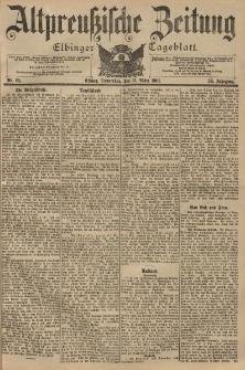 Altpreussische Zeitung, Nr. 68 Donnerstag 21 März 1901, 53. Jahrgang