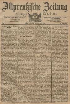 Altpreussische Zeitung, Nr. 71 Sonntag 24 März 1901, 53. Jahrgang