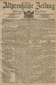Altpreussische Zeitung, Nr. 72 Dienstag 26 März 1901, 53. Jahrgang