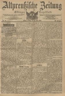 Altpreussische Zeitung, Nr. 75 Freitag 29 März 1901, 53. Jahrgang